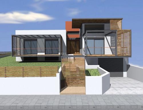 Σύμμεικτη Βιοκλιματική Κατοικία   Κατσικάς Ιωαννίνων   2016