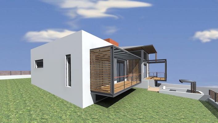 Κατσικάς βιοκλιματική κατοικία