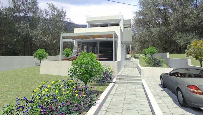 Σύμμεικτη Βιοκλιματική Κατοικία | Πλαταριά Θεσπρωτίας | 2012